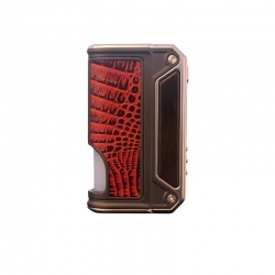 Mod Tigara Electronica Lost Vape Therion BF DNA75C BOX Mod Wood&Red Crocodile