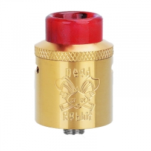 Hellvape Dead Rabbit RDA Atomizer Gold