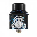 Atomizor Apocalypse 2nd Generation RDA Black Blue Spatter ORIGINAL