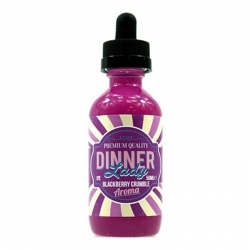Lichid Premium Blackberry Crumble By Dinner Ladys 50ml 0mg