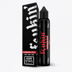 Lichid Premium Strawberry Jello BY FCUKIN' FLAVA 50ml 0mg