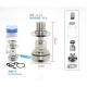 Atomizor Doggystyle 2K16 RTA SS 316, SXK, 22mm, 3.5ml, Argintiu