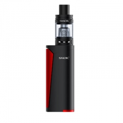 Kit Priv V8 Smok 3ml Black Red