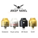 WASP NANO RDA Gold