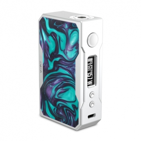 VOOPOO DRAG 157W TC Box MOD Silver Resin Turquoise)