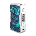 VOOPOO DRAG 157W TC Box MOD Silver Resin Turquoise