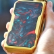 Mod Tigara Electronica VOOPOO DRAG 157W Mod GoldResin (Azure)