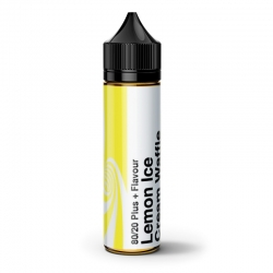 Lichid Premium City Vape - Lemon Ice Cream Waffle 0mg.