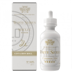 Lichid Premium Kilo E-Liquids - White Series - CINNAMON ROLL - 50ml 0mg.