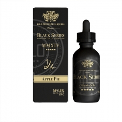 Lichid Premium Kilo E-Liquids - Black Series - APPLE PIE - 50ml 0mg.